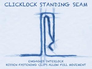 ClickLock Standing Seam
